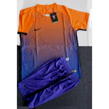 Nike Dri-Fit  orange/blue